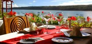Restaurant vue mer Crozon Hostellerie de la Mer