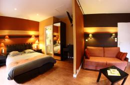 Hotel à Crozon Hostellerie de la Mer suite vue mer