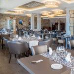 Salle de Restaurant Hostellerie de la Mer face à la mer (Presqu'ile de Crozon)