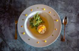 Carte été restaurant Hostellerie de la Mer à Crozon